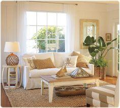 mami g. : Coastal inspirations for living room