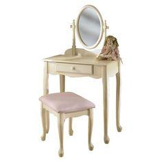 Powell Kid's Vanity Set - Off White
