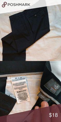 Dockers dress men's pants black 38x34 Barely used.  Straight leg. Dockers Pants Chinos & Khakis