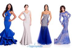 Miss Universe 2015 Delegates Evening Gown Photoshoot