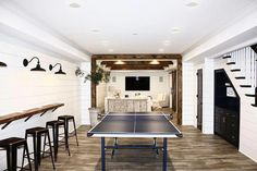 Discover Amazing Mancave Ideas Source by The post Convert Your Garage into a Man Cave & Man Cave Home Bar appeared first on Whitney DIY Design. Small Basements, House, Man Cave Home Bar, Home, Basement Decor, Family Room Design, Home Remodeling, New Homes, Small Basement Remodel