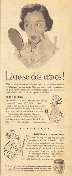Creme V Pond's | Em O Cruzeiro, 24 de março de 1956