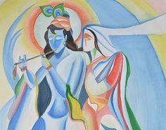 "Check out new work on my @Behance portfolio: ""Love of Krishna and Radha""…"
