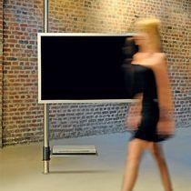 Soporte para TV suelo-techo / giratorio