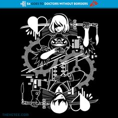 Automatons By Nina Matsumoto, today at The Yetee!