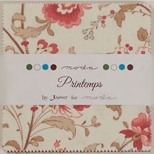 PRINTEMPS Charm Pack by 3 Sisters for Moda Fabrics