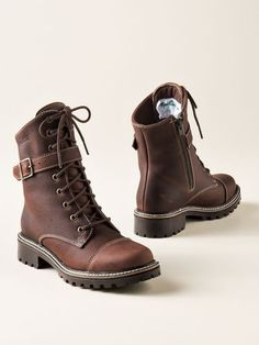Shop Waterproof Leather Boots with so much style, you'll wear them rain or shine: Women's Martino Ankle Boot Hikers. Made in Canada.
