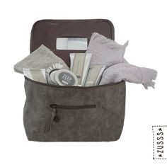 Zusss l Luxe beautycase taupe l http://www.zusss.nl/product/luxe-beautycase-taupe/