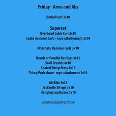My week in workouts 9-14 October – Simi's Trinkets and Treats