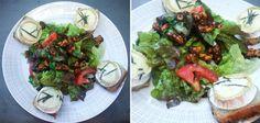 Chèvre chaud, Salat mit Ziegenkäse&karamellisierten Walnüssen | derultimativekochblog
