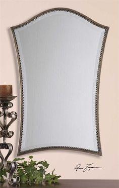 Sergio Silver Vanity Mirror