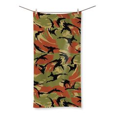 Oman DPM CAMO Beach Towel