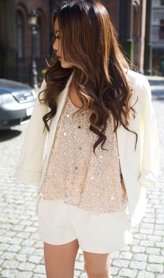 Sequined Top Styling