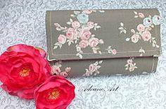 Peňaženky - Ruže v šedej - 4953140_
