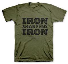 Iron Sharpens Iron Military Premium T-Shirt