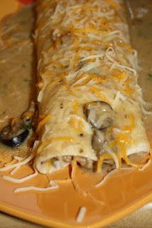 Texas Pork Burritos (crockpot recipe!) - these are the BEST burritos I've ever made. Simple ingredients and super yummy!