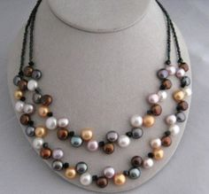 Dancing Pearl Necklace #188