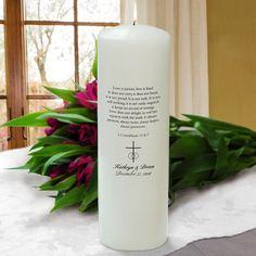 White Corinthians Unity Candlehttps://lotusrow.myshopify.com/admin/products/9058523081