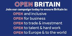No free movement, no continued Single Market membership - what is Open about Open Britain? https://kevinmcnamara.co.uk/the-launch-of-open-britain-7a7f1aafa2c3?source=latest---------2