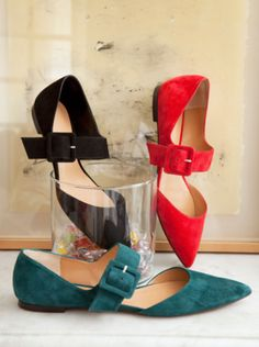 Hoss Intropia flats from the fall 2013 collection