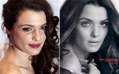 L'Oreal ad banned in the UK for heavily airbrushing actress Rachel Weisz to sell an anti-aging face cream