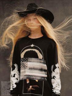 What wonderful blonde hair....