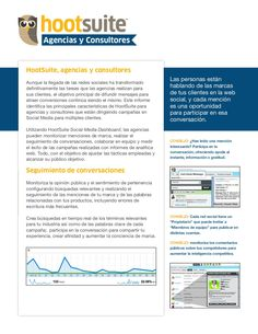 Hootsuite para Agencias y Consultores