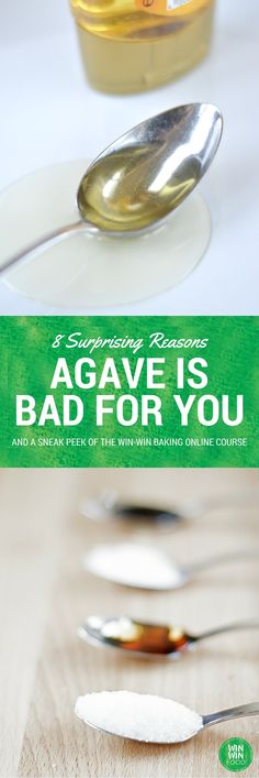 8 Surprising Reasons Agave is Bad for You | WIN-WINFOOD.com Although advertised as a healthy sweetener, there are actually many reasons why #agave is bad for you - or at least no better than #sugar. #nutrition