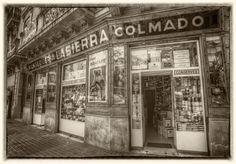Colmado Mantequería Zen, Old Pictures, Vintage Photos, Street View, Social, Concept, Memories, Gardens, Traditional