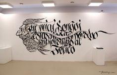 La Skribita Vorto by THEOSONE Adam Romuald Klodecki, via Behance