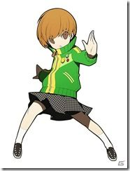 Persona Q: Shadow of the Labyrinth - Chie Satonaka Character Concept, Concept Art, Persona Q, But Is It Art, 2d Art, Character Design Inspiration, Game Art, Chibi, Drawings