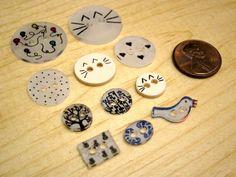 Tutorial: Sewable Botones Retráctiles Plástico   El Zen de hacer