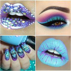 Sundays collage🔝 You must definitely visit these ladies🔝🔝🔝🔝💞💖💕 Lips by @myopulence  Eyes by @giuliannaa  Nails by @renai_madisonails Lips by @grinanddagger 🌹💖 unbedingt vorbei schauen!! Die Mädels haben wirklich klasse Bilder 💖 #lees_sundays_collage #lipart #lips #lipsticks #liptutorial #mua #lipliner #makeupblogger #makeup #like4like #makeupaddict #makeupoftheday #makeupartist #makeupart #naillacquer #_makeup_artist_worldwide_ #nails2inspire #nails #nailoftheday #nailsofinstagram…