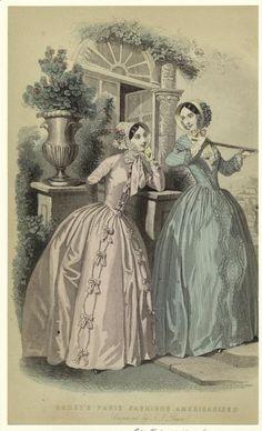 Paris fashions Americanized (1848)