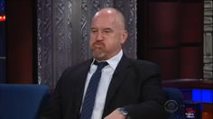 """On Tuesday's """"The Late Show With Stephen Colbert,"""" Louis C.K. took shots at Trump. C.K. said, """"He's just a gross, crook, dirty, rotten, lying sack of s***."""""""