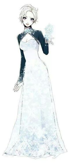 Frozen~Elsa. I feel like this is what they should have put her in for more of an every day look