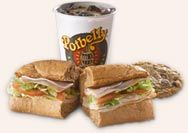 The incredible Potbelly Sandwich Shop. Chicago, IL.