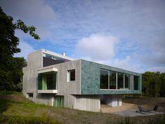 """""""Villa in the dunes"""", Hoek van Holland, Nederland (2005 - 2008) _ by De Zwarte Hond."""