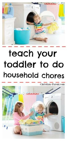 Easy tips for teaching your toddler to household chores (that actually work). Parenting Articles, Parenting Styles, Parenting Humor, Kids And Parenting, Parenting Hacks, Household Chores, Kids Behavior, Gentle Parenting, Science Experiments Kids