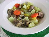 Lihamojakka, Beef Stew - A Finnish-American Recipe for St. Urho's Day