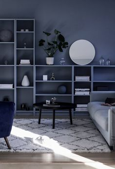 A 12 legmenőbb IKEA könyvespolc heck Interior Design Living Room, Living Room Designs, Living Room Decor, Hacks Ikea, Diy Hacks, Beautiful Interior Design, Ikea Furniture, Home And Living, Diy Home Decor