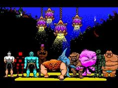 Tongue of the Fatman is an old science fiction action game, developed by Brian A. Rice and released by Activision in Dangerous Minds, Fat Man, Fighting Games, Gaming Computer, Pixel Art, Really Cool Stuff, Science Fiction, Video Game, Nerd