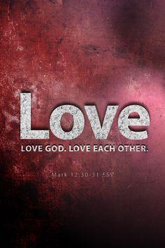 Mark 12:30-31