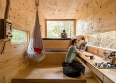 Love the great outdoors but not prepared to slum it in a tent? These micro cabins and sleeping pods provide more glamorous accommodation for holidaying in remote locations.