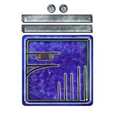 BLUE CRYSTAL EAGLE. KIN 155. http://spacestationplaza.com/13-moon-dreamspell-calendar/BLUE-CRYSTAL-EAGLE