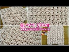 Meladoras Creations   Glover Stitch – Free Crochet Pattern - Meladoras Creations