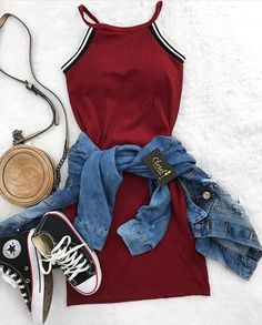 Outfits for teens, trendy outfits, spring outfits, cute teen outfits, cute outfits Teen Fashion Outfits, Swag Outfits, Mode Outfits, Cute Fashion, Girl Outfits, Fashion Clothes, Feminine Fashion, Girl Clothing, Clothes For Girls