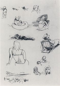 The Art of Ofey: Richard Feynman's Sketches and Drawings   Brain Pickings