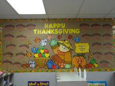 Happy Thanksgiving! (Aron {I'm Thankful for}) Bulletin Board