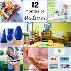 12 months of Montessori Learning, practical life, Free Printable chore chart, Sensorial, Montessori activities Maria Montessori www.naturalbeachliving.com